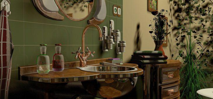 Comment concevoir une salle de bains rustique et charmante?