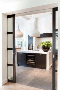 porte coulissante pour cuisine pour studio