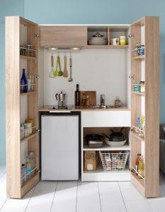 rangement hauteur pour petite cuisine